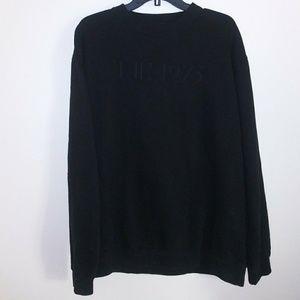Tops - The 1975 black fleece sweater mens unisex top